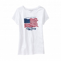 OLD NAVY 2013 FLAG TEE
