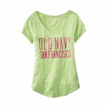 OLD NAVY TRADEMARK TEE